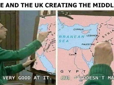 How UK and France created and ruined the modern Middle East
