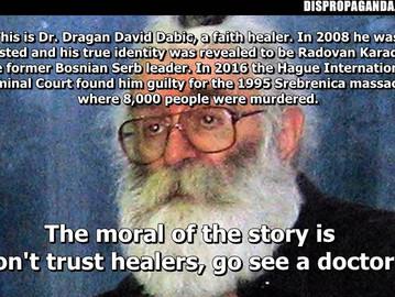 """What a """"healer""""."""