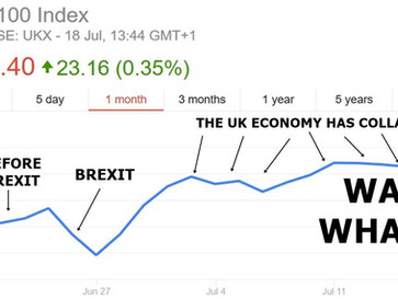 What the media doesn't tell you about the UK's post Brexit economy.