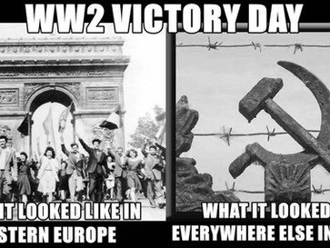"""""""Victory day"""" was really """"Occupation day"""" for most Europeans."""