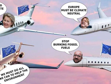 EU to impose 'climate taxes' on EU citizens while increasing private jet budget for EU officials