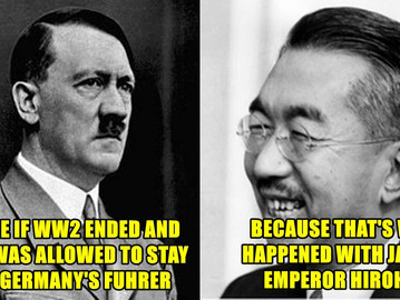 Emperor Hirohito, history's greatest unacknowledged war criminal.