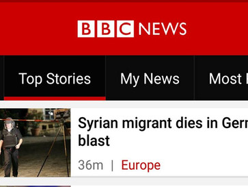 According to BBC the victim of the suicide bomb attack in Germany, was the suicide bomber.