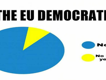 The EU is a not a democracy, it's the opposite