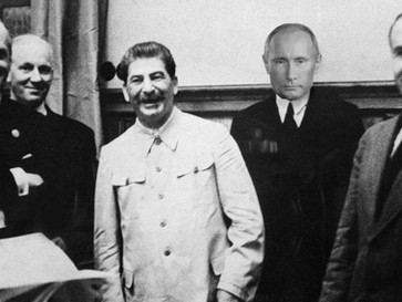 Putin defends 'Molotov-Ribbentrop' pact, says Western countries, not USSR, helped Germany st
