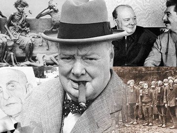 The crimes of Winston Churchill.