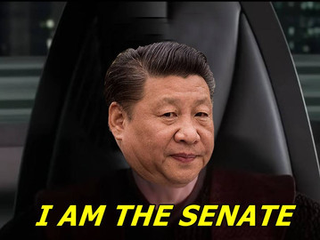China's president Xi Jinping is now the new Chinese Emperor.