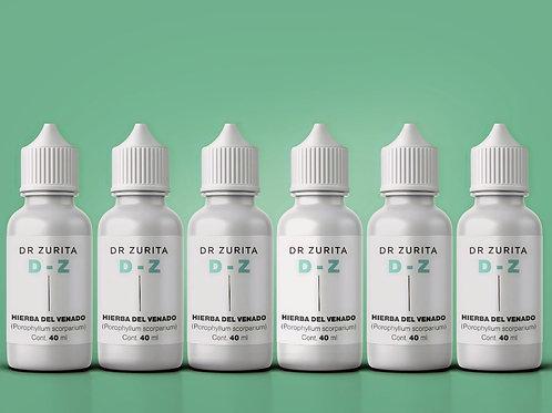 D-Z Paquete de 6 frascos
