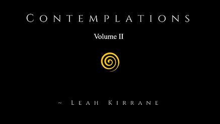 Contemplations vol II - cover.png