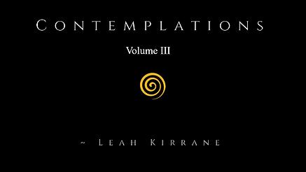 Contemplations vol III - cover.png