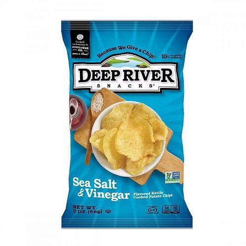 Deep River Salt & Vinegar Chips 2oz