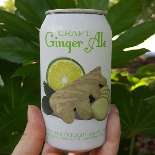 Unknown Brewing Ginger Ale 12oz