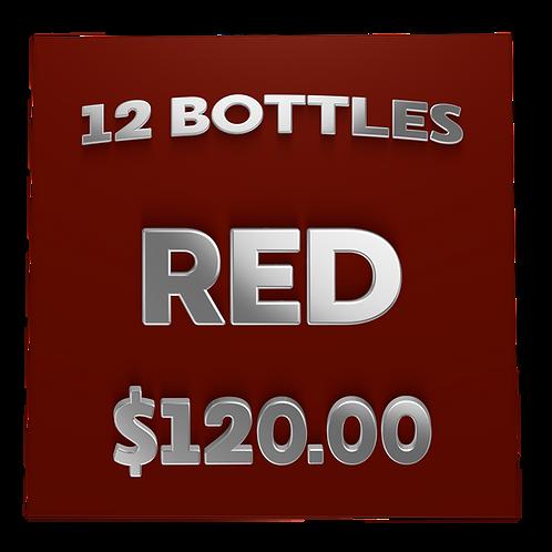 $120 Red Box (case) - Wine Club