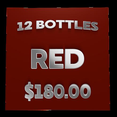 $180 Red Box (case) - Wine Club