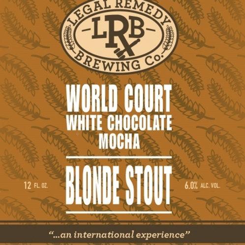 Legal Remedy World Court Mocha Blonde Stout 12oz