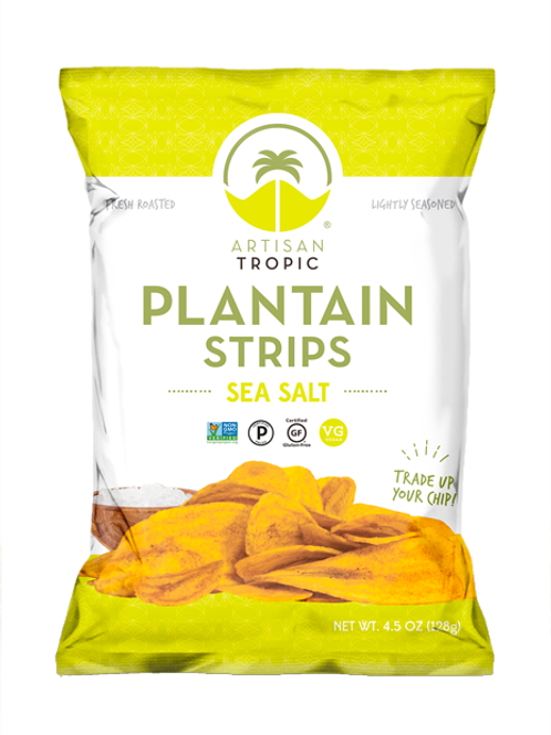 Artisan Tropic Plantain Strips 4.5oz