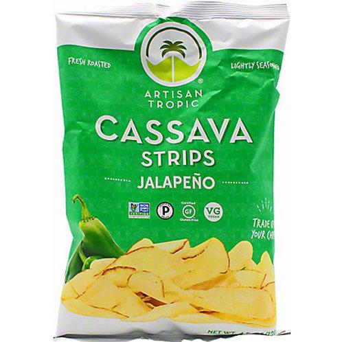 Artisan Tropic Cassava Chips - Jalapenõ 4.5oz
