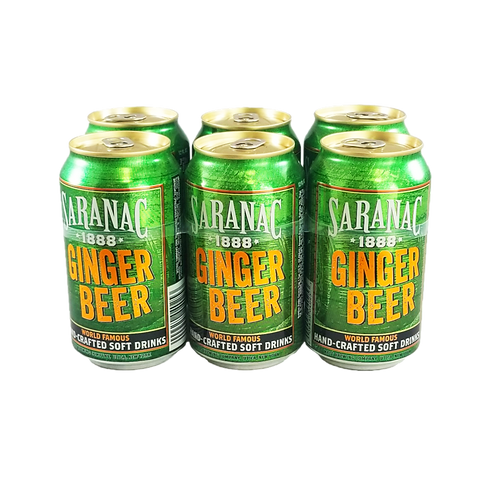 Saranac Ginger Beer (can)