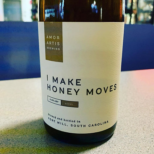 Amor Artis & Wooden Robot COLLAB I Make Honey Moves Honey Saison 500ml