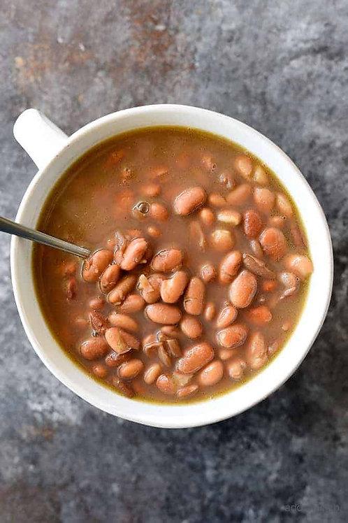 Del Pasado Pinto Beans 6lb can
