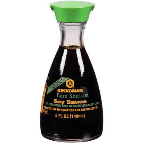Kikkoman Soy Sauce Less Sodium 5oz