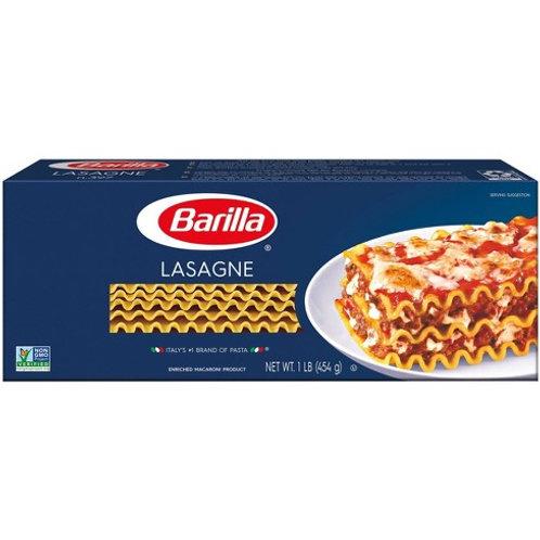 Barilla Lasagna Noodles 1lb