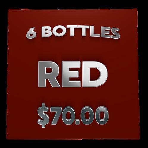$70 Red Box, 6 pack - Wine Club