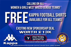 Women & Girls West Wales League KAPPA DE