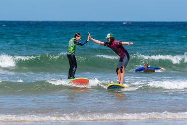 Crantock Challenge with Big Green Surf S