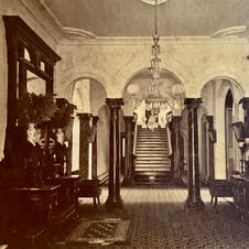 Front hall entrance