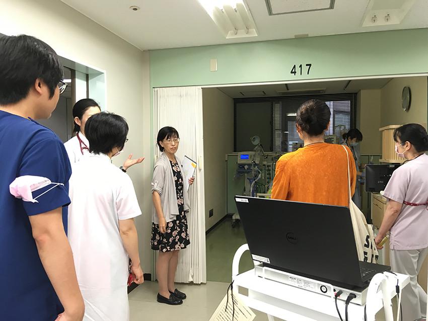 重症個室の話し合いや調査