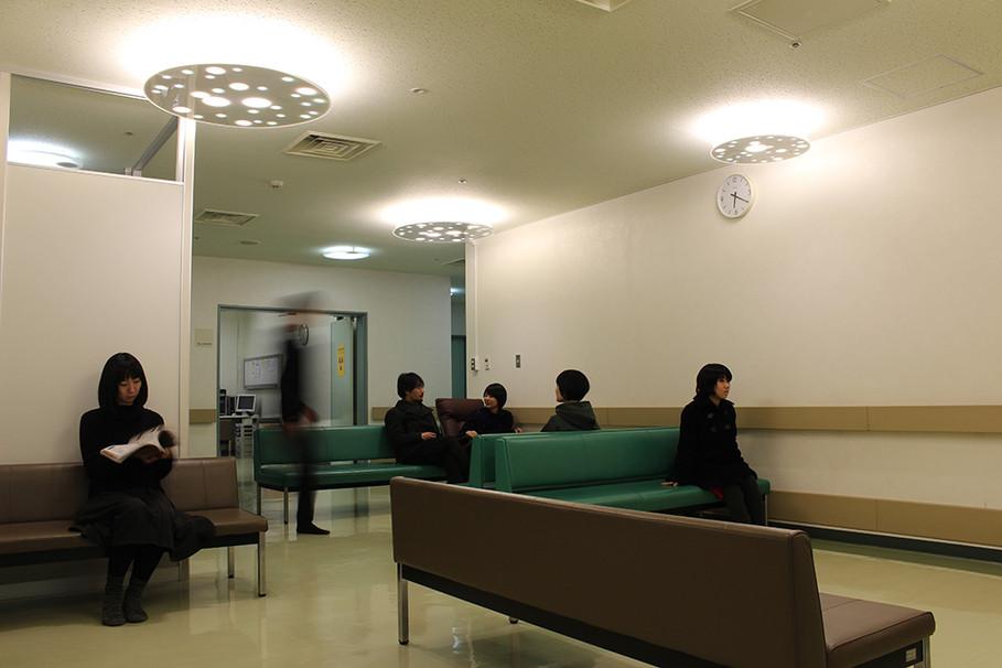 空あかりうむと改修後の待合室