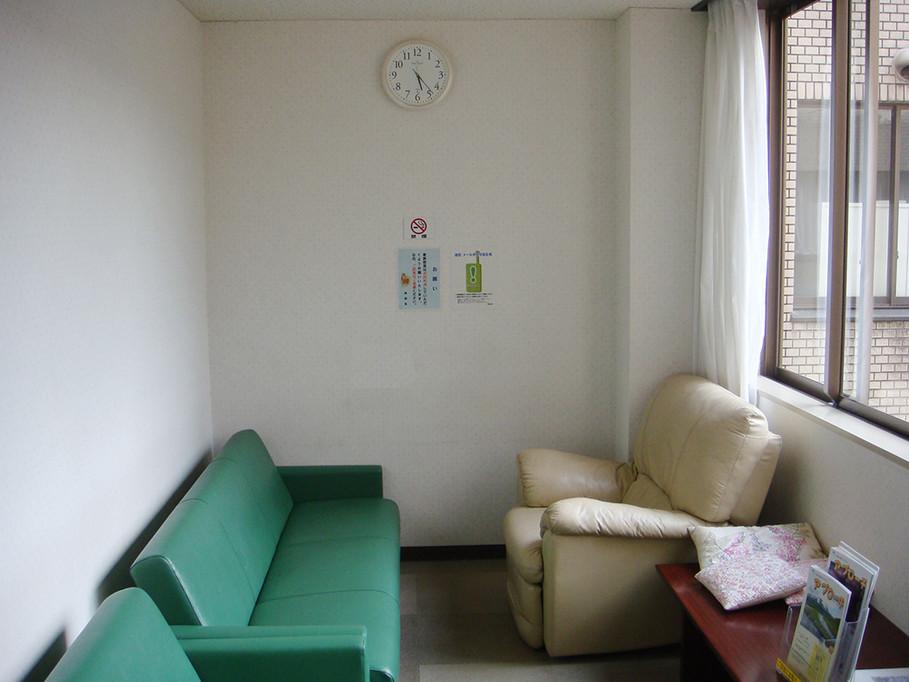 改善前の家族控え室