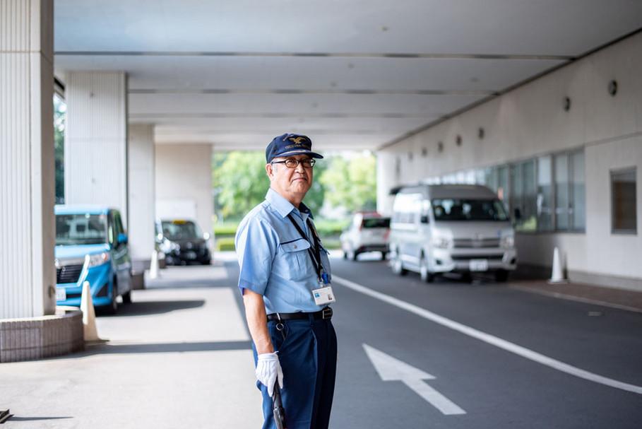 病院のまなざし 1.患者さんを迎える/撮影:須藤ゆみ