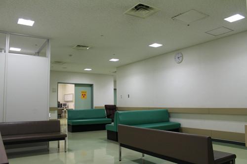 改修前の待合室