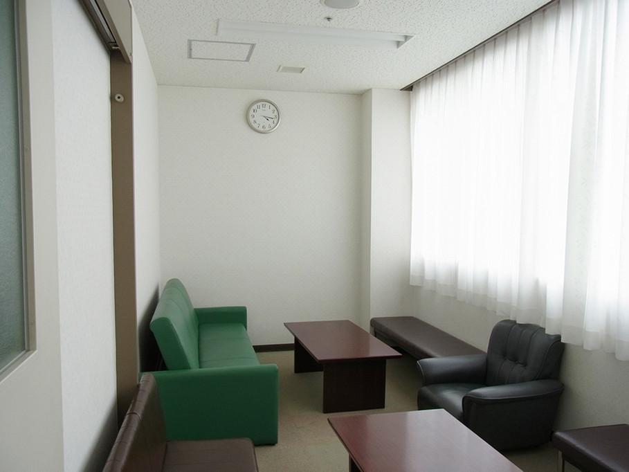 改修前の家族控え室