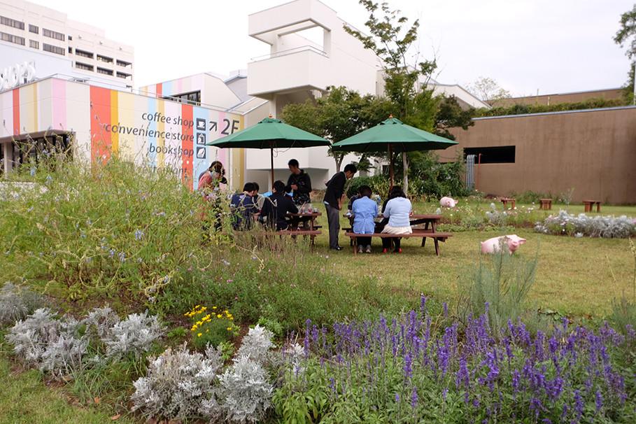 病院前ガーデン