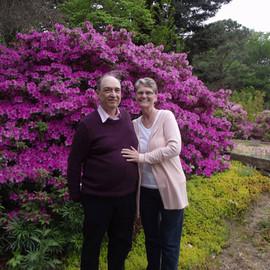 My husband Mark and I