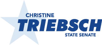 christine for senate logo