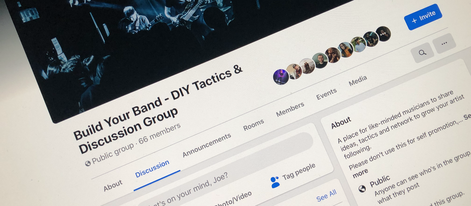 Build Your Band - DIY Tactics & Discussion Group