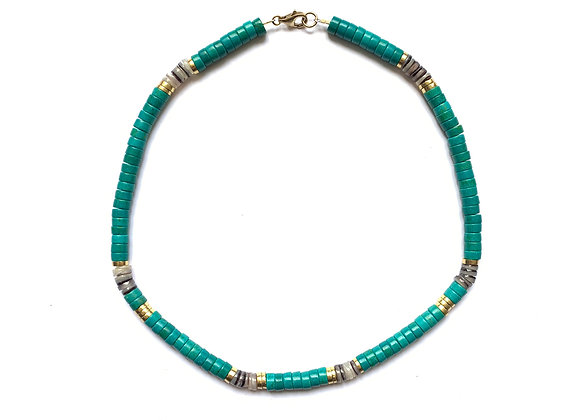 """Collier """"BODHI"""" Turquoise"""
