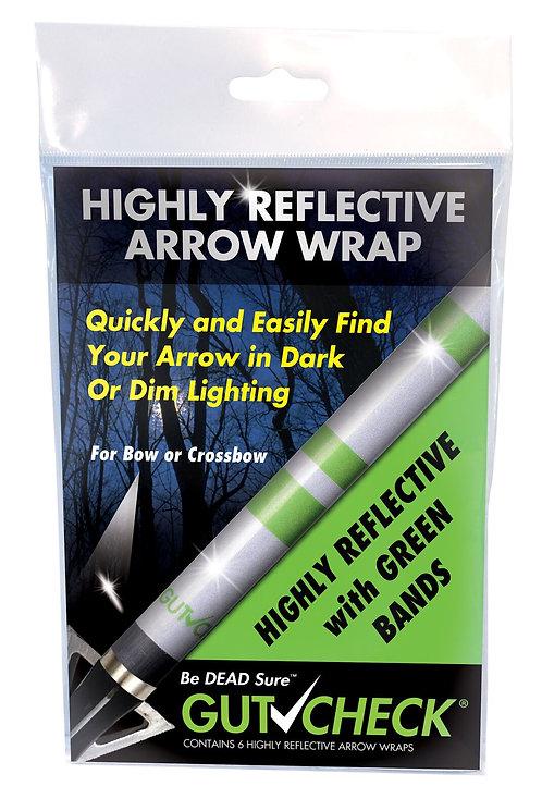 Highly Reflective Arrow Wrap - Green