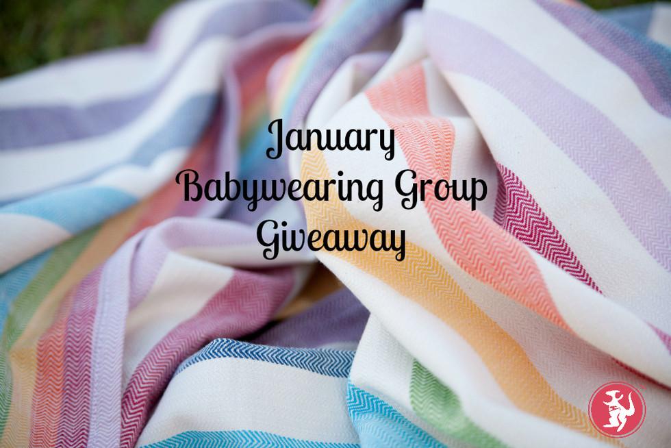 Risaroo's January Babywearing Group Giveaway