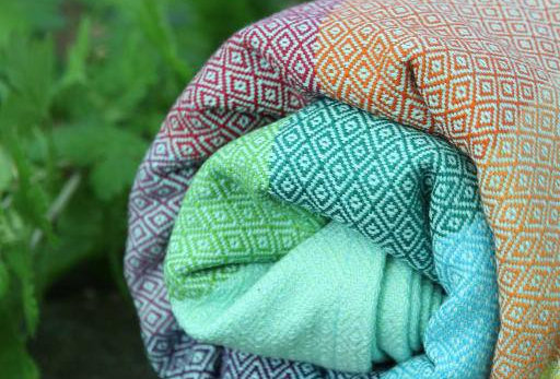 Girasol Arctic Rainbow Double Diamond Weave