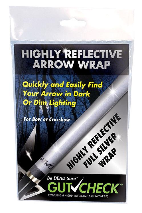 Highly Reflective Arrow Wrap - Silver