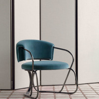 TR A-Round armchair_ Screen folding scre