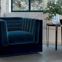tr relief armchair, bondai side tables-c