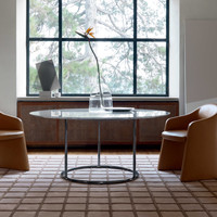 TR Carrara table_Liubis armchairs_Check