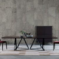 TR Tosco rectangular table_Eleanor chair