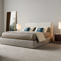 TR Band bed and bedside tables_Novecento